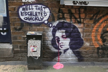 Graffiti_in_Shoreditch,_London_-_Well_that_escalated_quickly_-_Pure_Evil_(13744925183).jpg